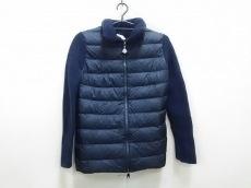 モンクレール ダウンジャケット S レディース 冬物/袖部分ニット