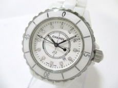 CHANEL(シャネル) 腕時計 J12 H1628 レディース 白