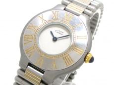 Cartier(カルティエ) 腕時計 マスト21 - レディース 白