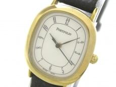 ティファニー 腕時計 ポートフォリオ  レディース 革ベルト
