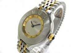 Cartier(カルティエ) 腕時計 マスト21 1340 レディース シルバー