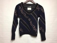 サカイ 長袖セーター サイズ38 M レディース 美品 ラメ/フリル