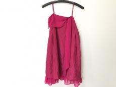 エメ ドレス サイズ9号 レディース ピンク リボン aimer