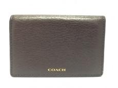 COACH(コーチ)/名刺入れ