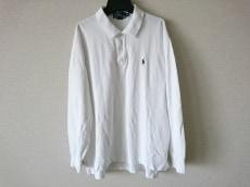 ポロラルフローレン 長袖ポロシャツ サイズXL メンズ 白