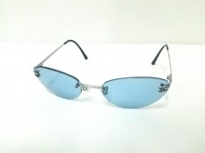 シャネル サングラス 4003 ブルー×黒×シルバー ココマーク