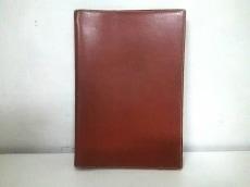 エルメス 手帳 グローブトロッター ブラウン ボックスカーフ