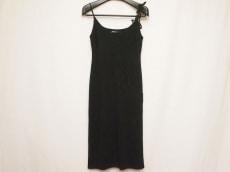 ダナキャラン ドレス サイズS レディース 美品 黒 レース DKNY