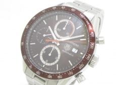タグホイヤー 腕時計 カレラ CV2013 メンズ ダークブラウン