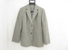 バーバリーロンドン ジャケット サイズ40 M メンズ 白×黒