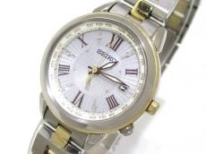セイコー 腕時計 ルキア 1B25-0AP0 レディース ラインストーン