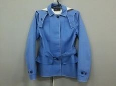 プラダ コート サイズ40 M レディース ブルー PRADA