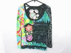 Desigual(デシグアル) 長袖Tシャツ サイズM レディース美品  花柄