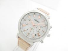SEIKO(セイコー) 腕時計 V175-0AJ0 レディース 白