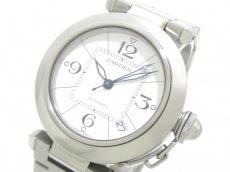 カルティエ 腕時計 パシャC W31074M7 ボーイズ 白