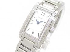 ティファニー 腕時計 グランド - レディース SS/ダイヤベゼル 白