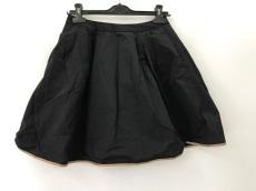 チェスティ ミニスカート サイズ1 S レディース 黒×ブラウン