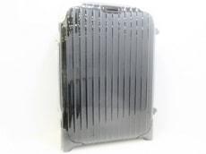 リモワ キャリーバッグ 黒×シルバー ポリカーボネイト RIMOWA