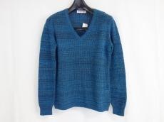 シーバイクロエ 長袖セーター レディース 美品 ブルー×ネイビー