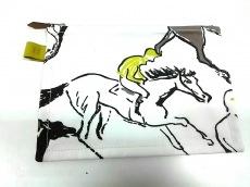 エルメス ポーチ 美品 トゥルースフラットポーチPM 白×マルチ
