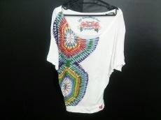 Desigual(デシグアル) Tシャツ サイズM レディース美品  白×マルチ