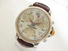 リトモラティーノ 腕時計 - メンズ 革ベルト/クロノグラフ