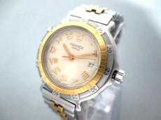 エルメス 腕時計美品  キャプテン ニモ - レディース アイボリー