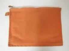 エルメス ポーチ ボラボラ オレンジ Mサイズ キャンバス HERMES