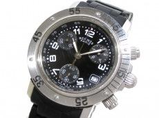 エルメス 腕時計 クリッパーダイバークロノ CL2.315 レディース