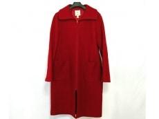 クミキョク コート サイズ3 L レディース 美品 レッド