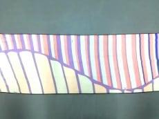 エミリオプッチ スカーフ 美品 パープル×ベージュ×ピンク