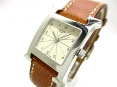 エルメス 腕時計 Hウォッチ HH1.210 レディース 革ベルト/□H