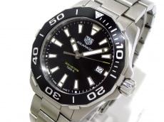 タグホイヤー 腕時計 アクアレーサー WAY111A メンズ SS 黒