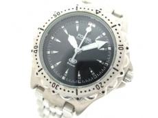 FOSSIL(フォッシル) 腕時計 Blue AM-3110 レディース 黒