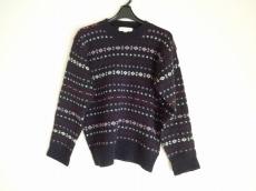 ブルックスブラザーズ 長袖セーター サイズM レディース 黒×マルチ