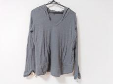 サカイ 長袖セーター サイズ2 M レディース グレー×ライトグレー