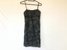 TOCCA(トッカ) ワンピース サイズ0 XS レディース 黒×白 刺繍