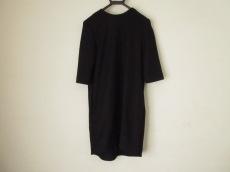 ヨーコ チャン ワンピース サイズ40 M レディース 黒 七分袖
