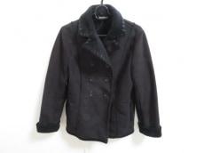 コムサデモード Pコート サイズ9 M レディース 美品 黒 冬物