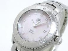 タグホイヤー 腕時計 リンク WJ131C-1 レディース ピンク