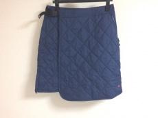 コロンビア 巻きスカート サイズL レディース 美品 ネイビー