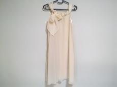 エメ ドレス サイズ9 M レディース 美品 ベージュ aimer