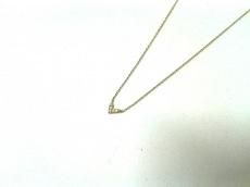 アーカー ネックレス 美品 K18YG×ダイヤモンド 5Pダイヤ AHKAH