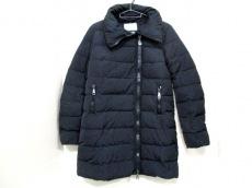 モンクレール ダウンコート サイズ0 XS レディース 美品 黒 冬物