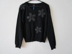 ランバンコレクション 長袖セーター サイズ40 M レディース 黒