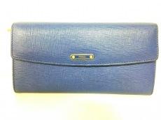 FENDI(フェンディ) 長財布 - 8M0340 ブルー レザー