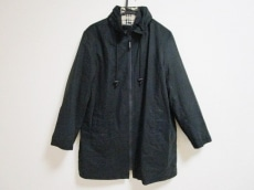 バーバリーロンドン コート サイズ40 L レディース 黒 冬物