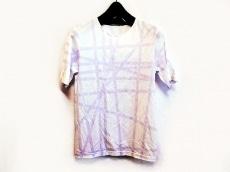 HERMES(エルメス) 半袖Tシャツ サイズM レディース 白×パープル