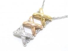 CHAUMET(ショーメ) ネックレス美品  リアンダムール 10Pダイヤ
