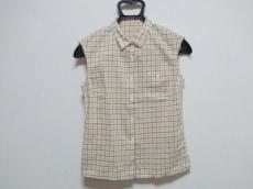 マーガレットハウエル ノースリーブシャツブラウス サイズ2 M美品